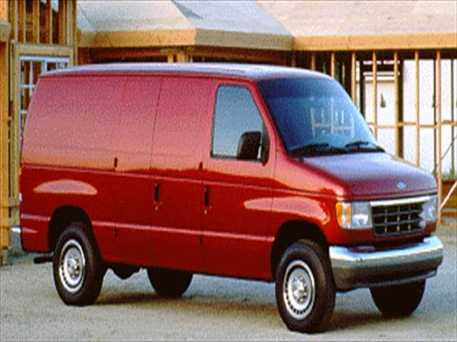 Most Popular Vans/Minivans of 1992 - 1992 Ford Econoline E250 Cargo