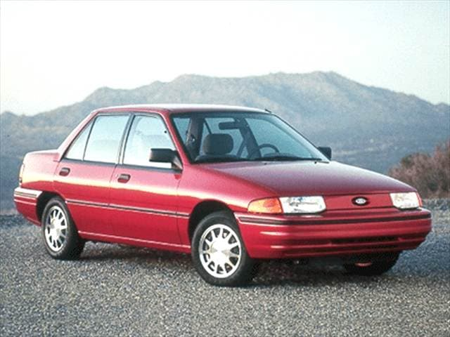 Most Popular Sedans of 1992 - 1992 Ford Escort