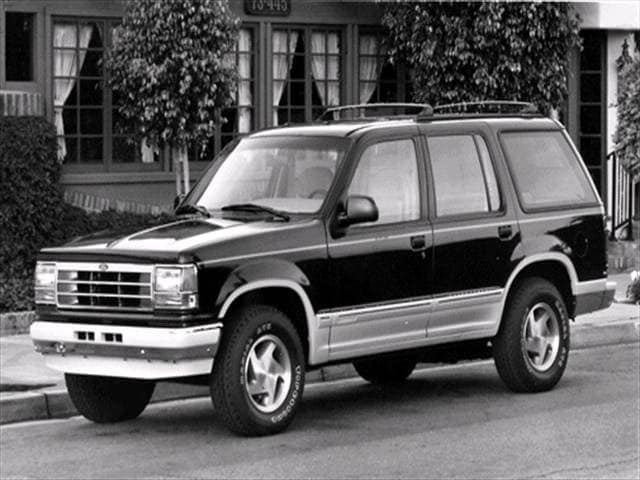 Most Popular SUVs of 1992 - 1992 Ford Explorer