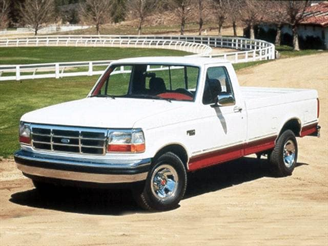 Most Popular Trucks of 1992 - 1992 Ford F150 Regular Cab