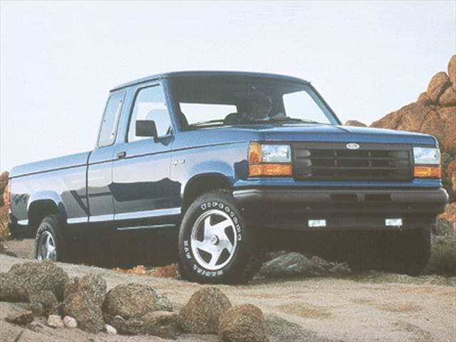 Most Fuel Efficient Trucks of 1992 - 1992 Ford Ranger Super Cab