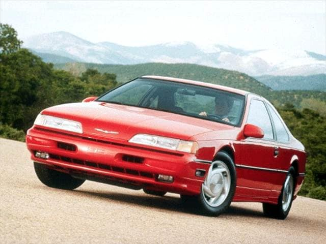 1992 Ford Thunderbird Super Coupe 2d Used Car Prices Kelley Blue Book