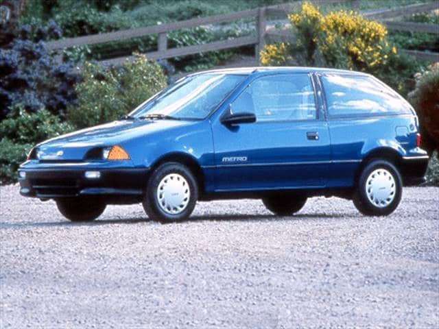 Most Fuel Efficient Hatchbacks of 1992 - 1992 Geo Metro