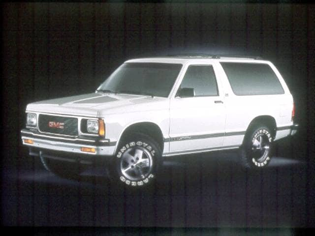 Most Fuel Efficient SUVs of 1992 - 1992 GMC Jimmy