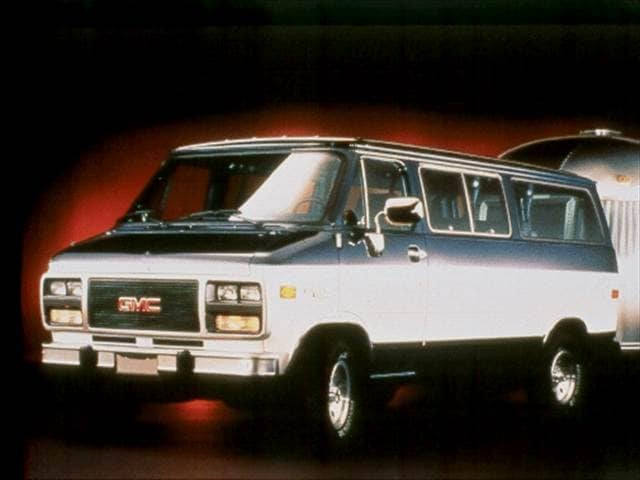 Highest Horsepower Vans/Minivans of 1992 - 1992 GMC Rally Wagon 2500