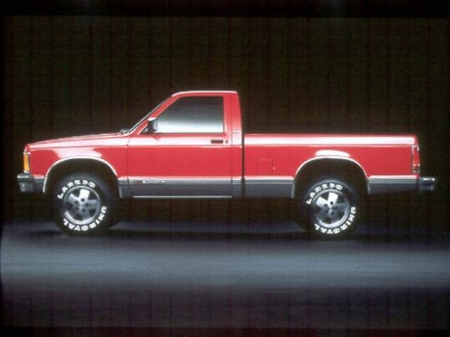 Most Fuel Efficient Trucks of 1992 - 1992 GMC Sonoma Regular Cab