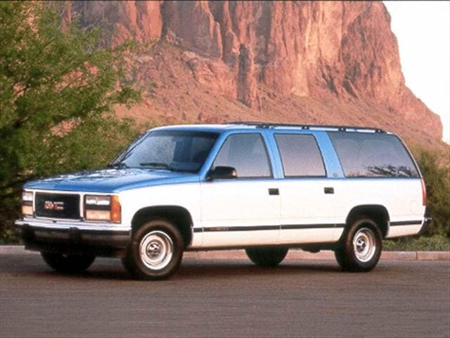 Top Consumer Rated SUVs of 1992 - 1992 GMC Suburban 1500