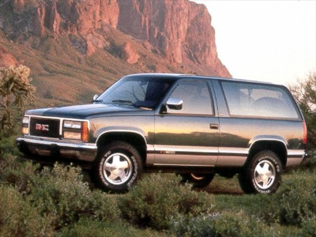 Most Popular SUVs of 1992 - 1992 GMC Yukon