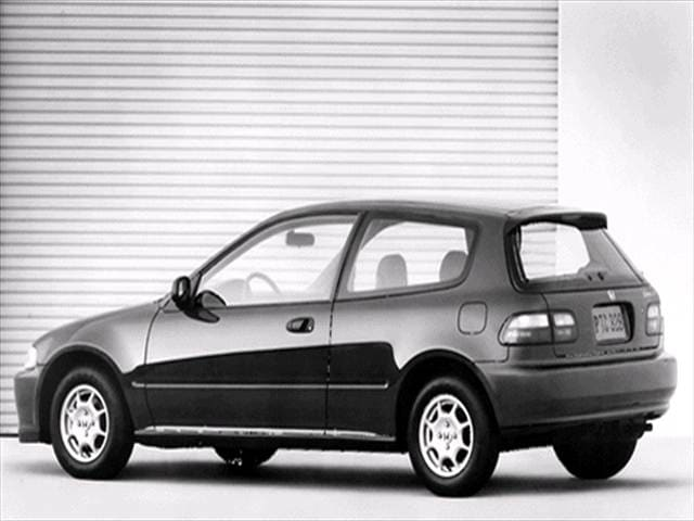 Most Fuel Efficient Hatchbacks of 1992 - 1992 Honda Civic