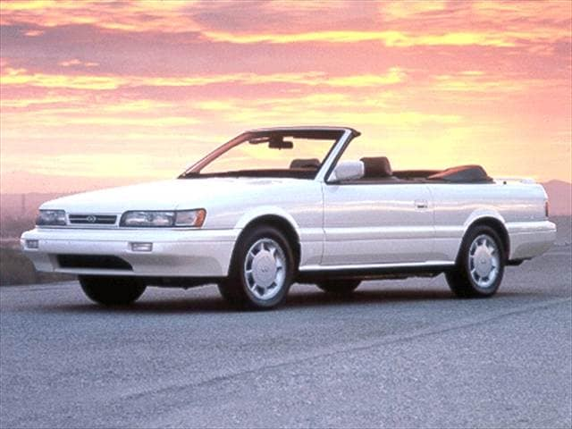 1992 INFINITI M30 Convertible 2D Used Car Prices