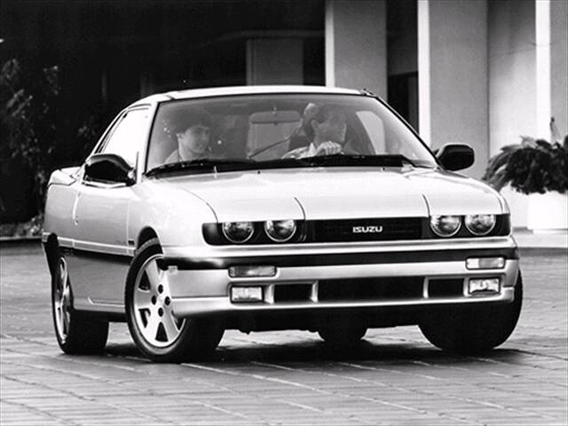 Top Consumer Rated Hatchbacks of 1992 - 1992 Isuzu Impulse