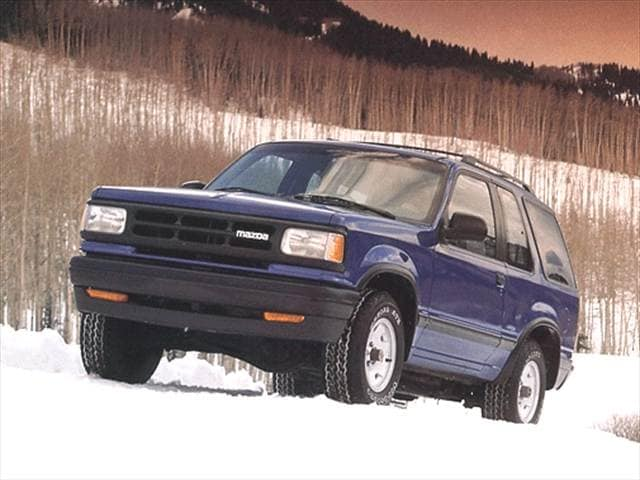 Most Fuel Efficient SUVs of 1992 - 1992 Mazda Navajo