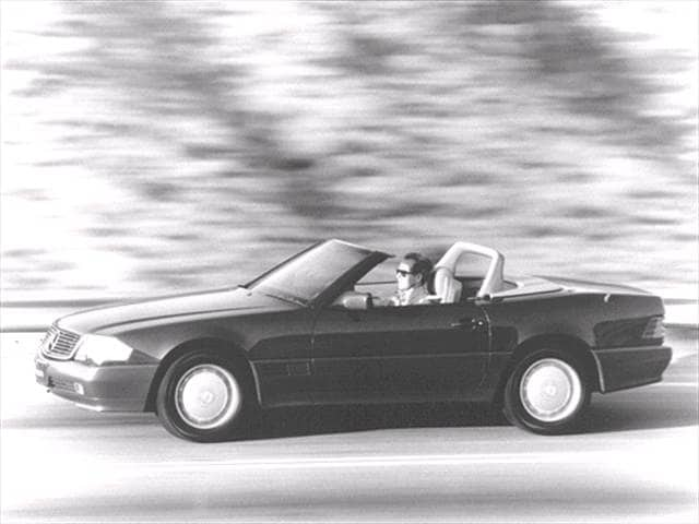 Top Consumer Rated Convertibles of 1992 - 1992 Mercedes-Benz 300SL