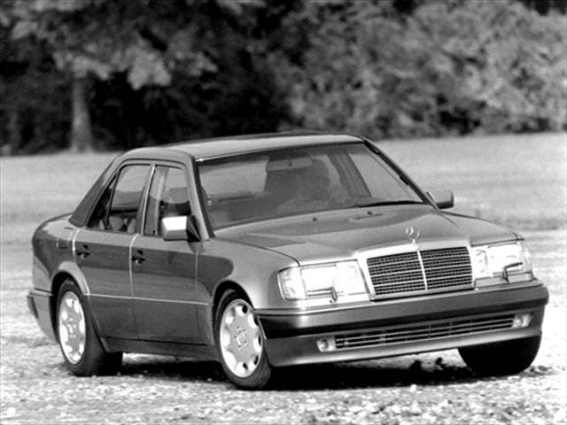 Highest Horsepower Sedans of 1992 - 1992 Mercedes-Benz 500E