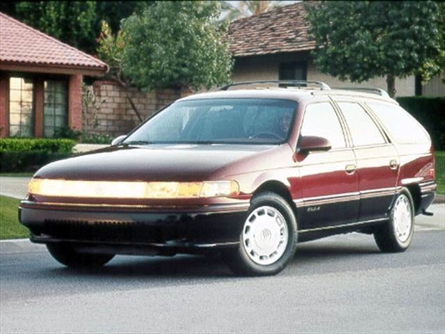 Most Fuel Efficient Wagons of 1992 - 1992 Mercury Sable