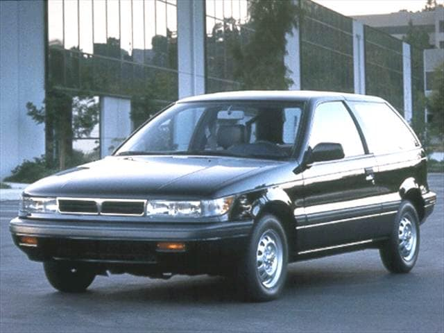 Most Fuel Efficient Hatchbacks of 1992 - 1992 Mitsubishi Mirage