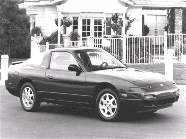 Most Popular Hatchbacks of 1992 - 1992 Nissan 240SX