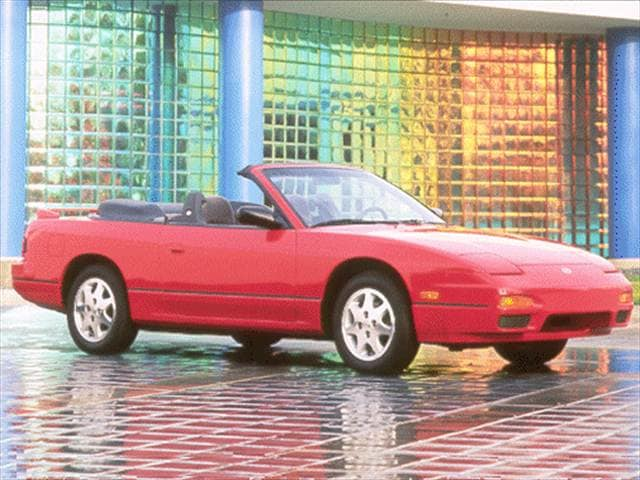 Most Popular Convertibles of 1992 - 1992 Nissan 240SX