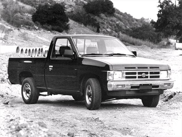 Most Popular Trucks of 1992 - 1992 Nissan Regular Cab
