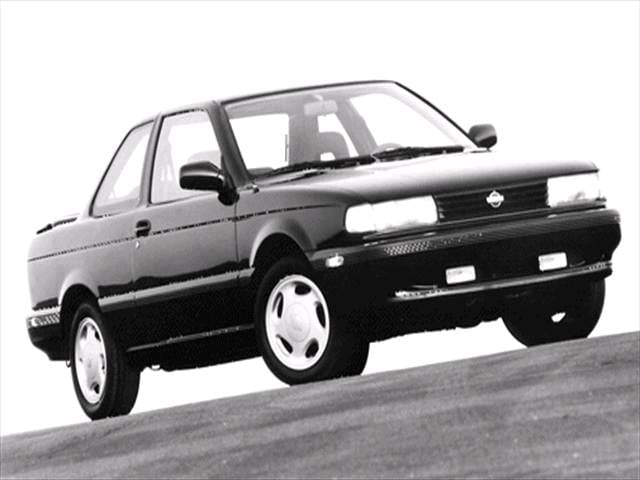 Most Fuel Efficient Coupes of 1992 - 1992 Nissan Sentra