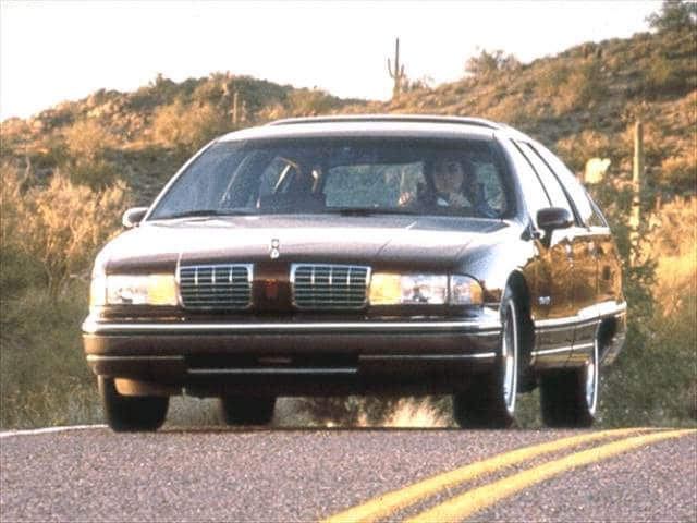 Top Consumer Rated Wagons of 1992 - 1992 Oldsmobile Custom Cruiser