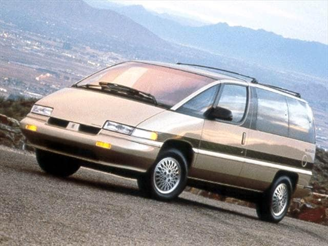 Top Consumer Rated Vans/Minivans of 1992 - 1992 Oldsmobile Silhouette
