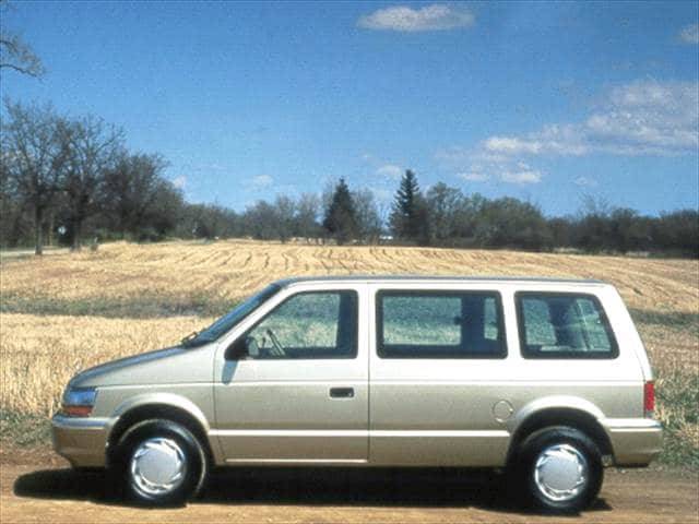 Most Fuel Efficient Vans/Minivans of 1992 - 1992 Plymouth Voyager