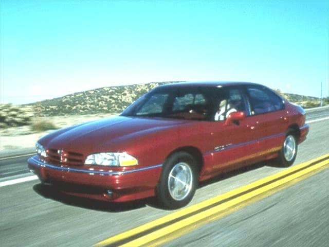 Most Popular Sedans of 1992 - 1992 Pontiac Bonneville