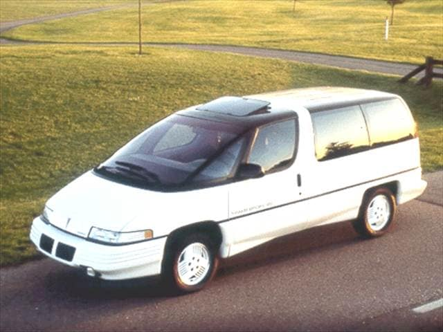 Most Fuel Efficient Vans/Minivans of 1992