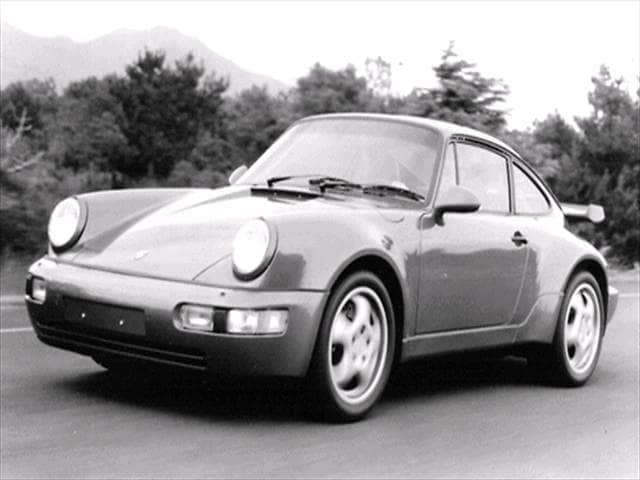 Highest Horsepower Coupes of 1992 - 1992 Porsche 911
