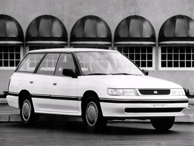 Most Fuel Efficient Wagons of 1992 - 1992 Subaru Legacy