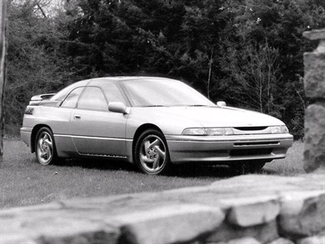 Top Consumer Rated Coupes of 1992 - 1992 Subaru SVX