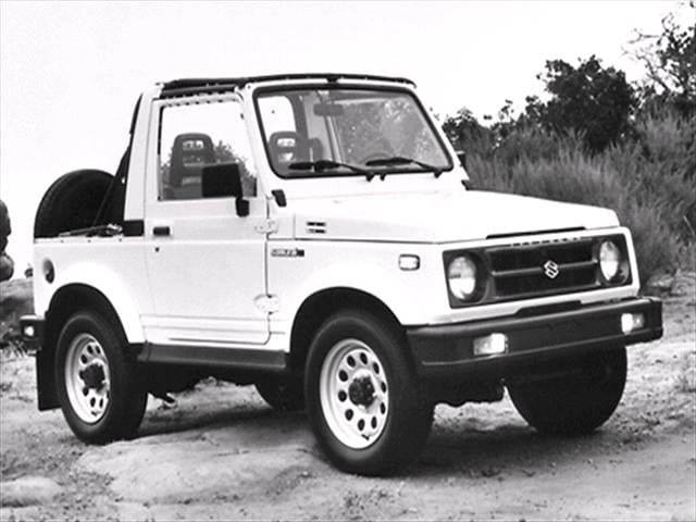 Most Fuel Efficient SUVs of 1992 - 1992 Suzuki Samurai