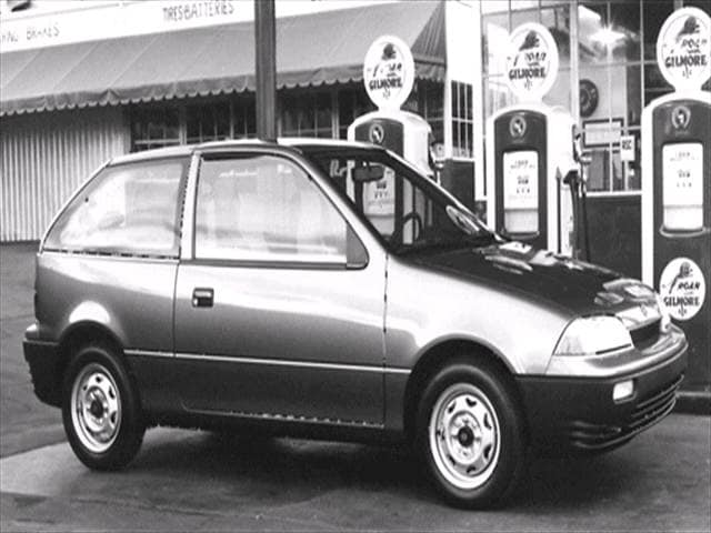 Most Fuel Efficient Coupes of 1992 - 1992 Suzuki Swift