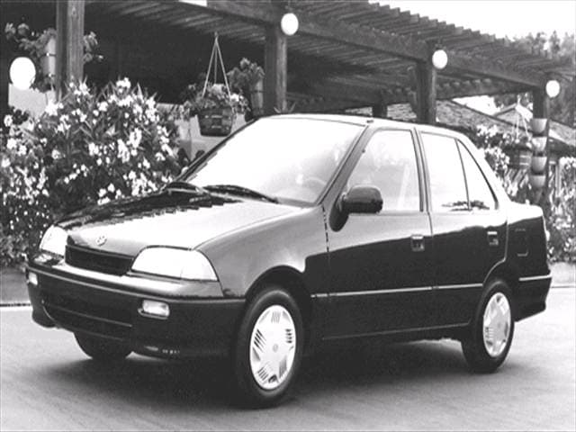 Most Fuel Efficient Sedans of 1992 - 1992 Suzuki Swift