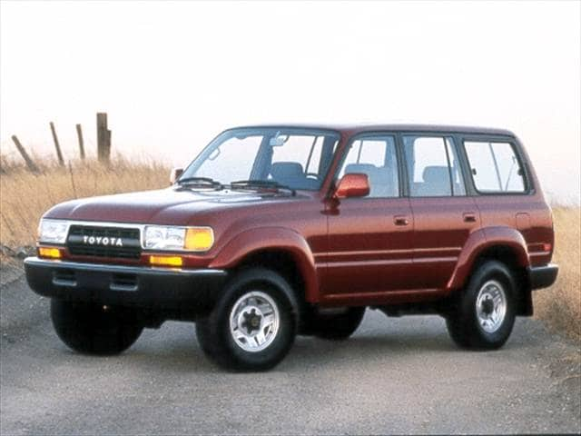Top Consumer Rated Luxury Vehicles of 1992 - 1992 Toyota Land Cruiser