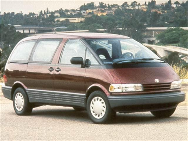 Most Popular Vans/Minivans of 1992 - 1992 Toyota Previa