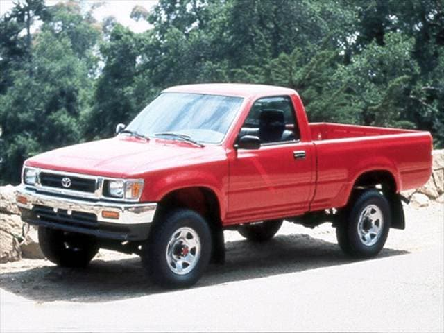 Top Consumer Rated Trucks of 1992 - 1992 Toyota Regular Cab