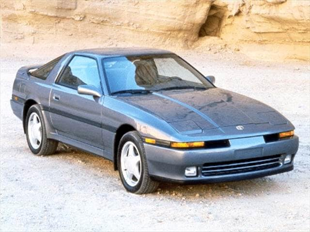 Highest Horsepower Hatchbacks of 1992 - 1992 Toyota Supra