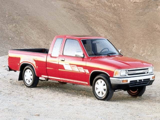 Most Popular Trucks of 1992 - 1992 Toyota Xtra Cab