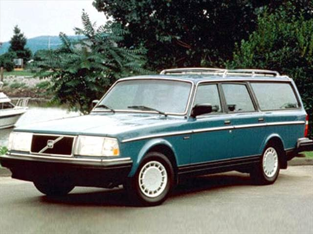 Top Consumer Rated Wagons of 1992 - 1992 Volvo 240