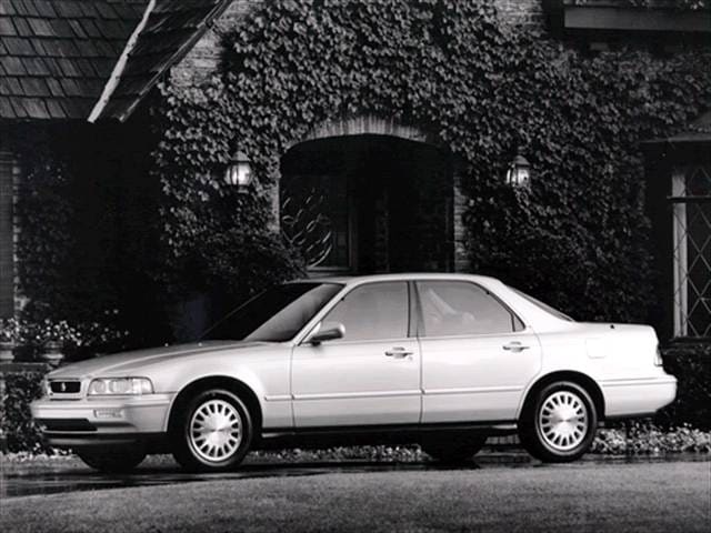 Most Popular Luxury Vehicles of 1993 - 1993 Acura Legend