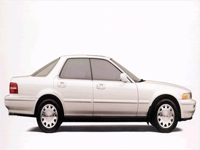 Top Consumer Rated Luxury Vehicles of 1993 - 1993 Acura Vigor