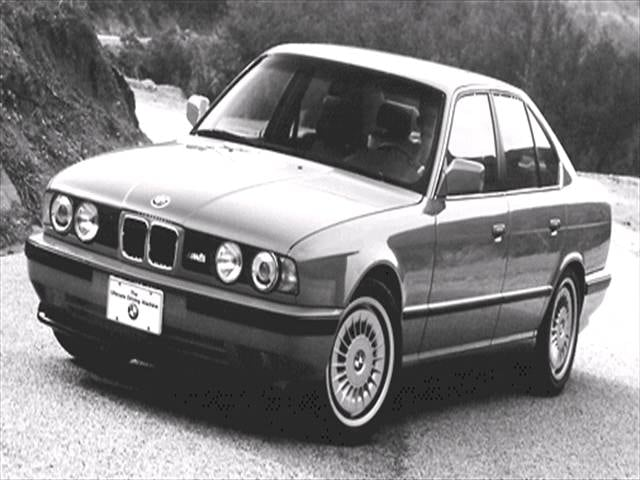 Highest Horsepower Luxury Vehicles of 1993 - 1993 BMW M5
