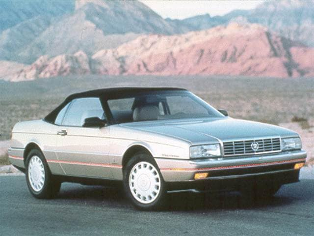 Highest Horsepower Convertibles of 1993 - 1993 Cadillac Allante