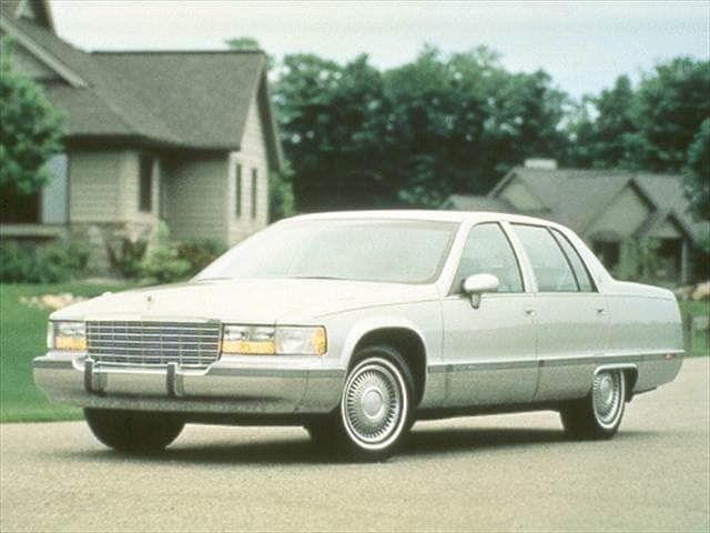 Top Consumer Rated Luxury Vehicles of 1993 - 1993 Cadillac Fleetwood