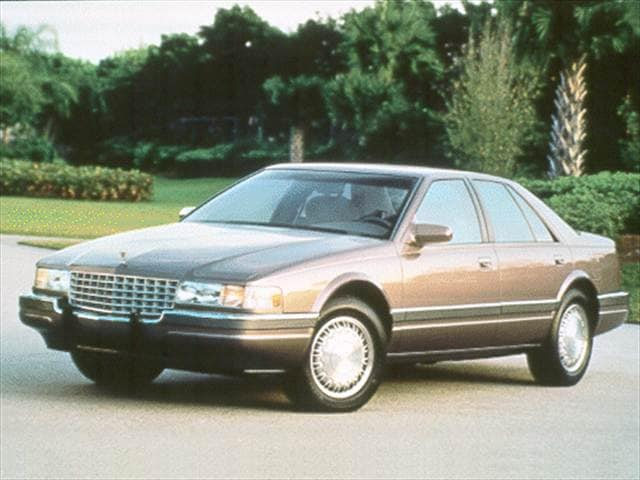 Most Popular Luxury Vehicles of 1993 - 1993 Cadillac Seville