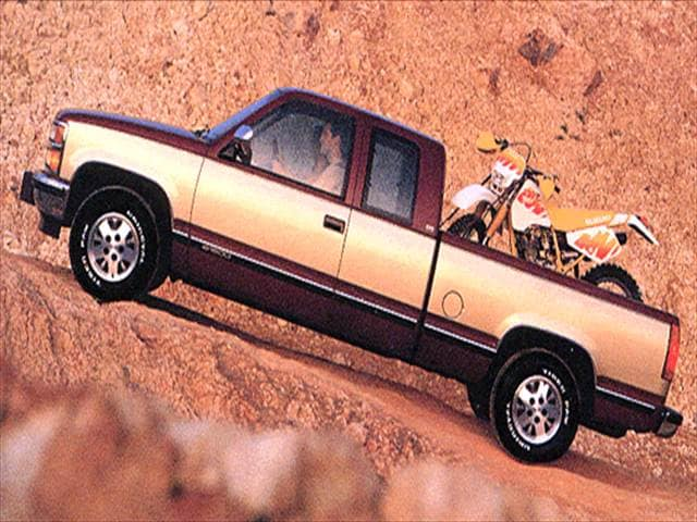 Most Popular Trucks of 1993 - 1993 Chevrolet 1500 Extended Cab