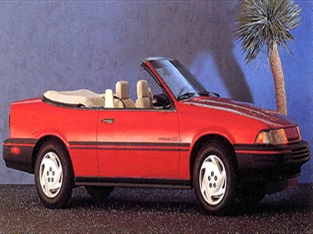 Most Fuel Efficient Convertibles of 1993 - 1993 Chevrolet Cavalier