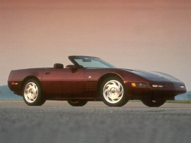 Top Consumer Rated Convertibles of 1993 - 1993 Chevrolet Corvette